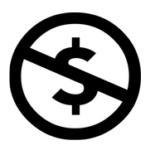 商用禁止ロゴマーク