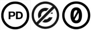 パブリックドメインのロゴマーク