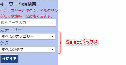selectボックスの外見